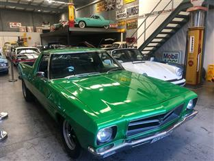 HOLDEN HQ UTE FINISHED IN ATOMIC GREEN !! 253 RECO WITH 5 SPEED ,PWR STEER