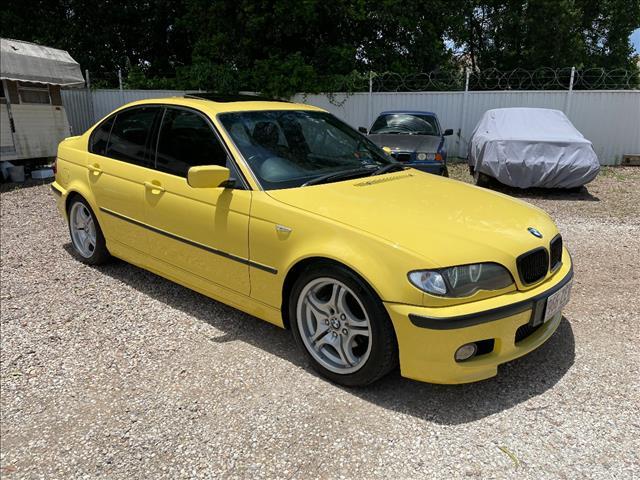 2002 BMW 3 18i E46 4D SEDAN