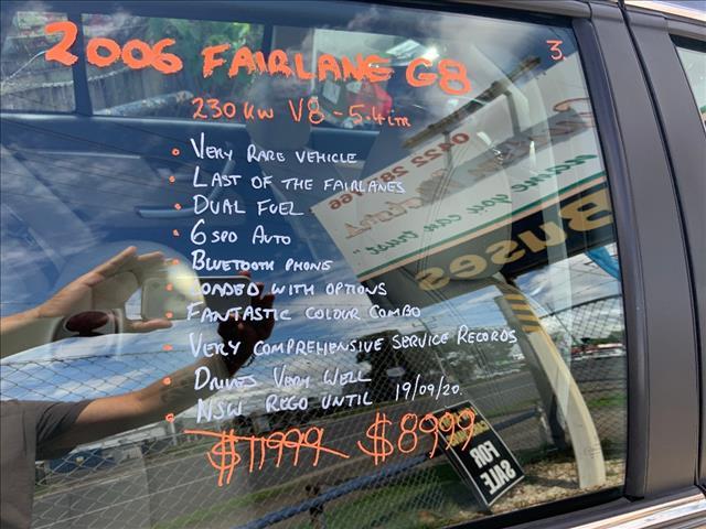 2006 FORD FAIRLANE G8 BF 4D SEDAN