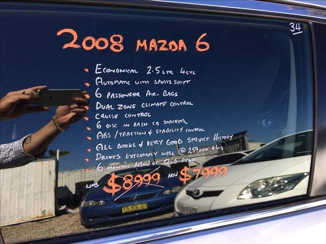 2008 MAZDA MAZDA6 CLASSIC GH 4D WAGON