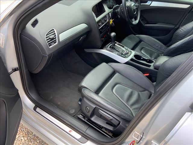 2009 AUDI A4 2.0 TFSI B8 (8K) 4D SEDAN