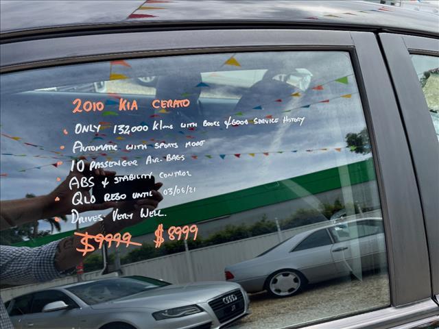 2010 KIA CERATO Si TD MY10 4D SEDAN