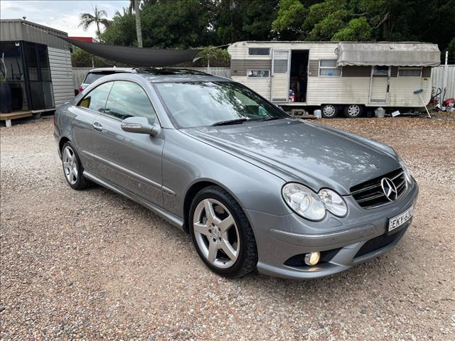 2009 MERCEDES-BENZ CLK350 AVANTGARDE C209 07 UPGRADE 2D COUPE