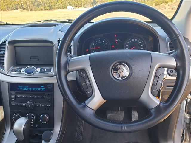 2013 HOLDEN CAPTIVA 7 SX (FWD) CG MY12 4D WAGON