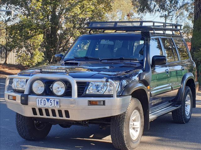 2002 NISSAN PATROL ST (4x4) GU III 4D WAGON