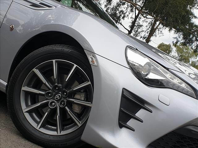 2017 TOYOTA 86 GT ZN6 MY17 2D COUPE