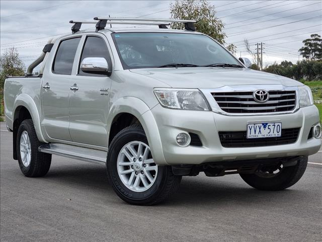 2012 TOYOTA HILUX SR5 (4x4) GGN25R MY12 DUAL CAB P/UP