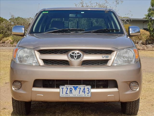 2005 TOYOTA HILUX SR5 GGN15R DUAL CAB P/UP