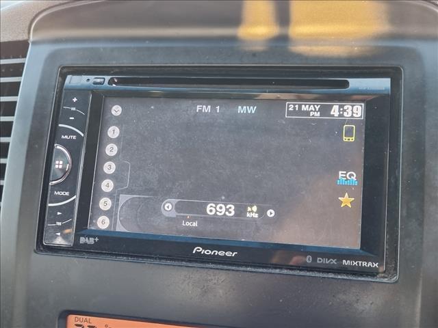 2013 NISSAN NAVARA ST (4x2) D40 MY12 DUAL CAB P/UP