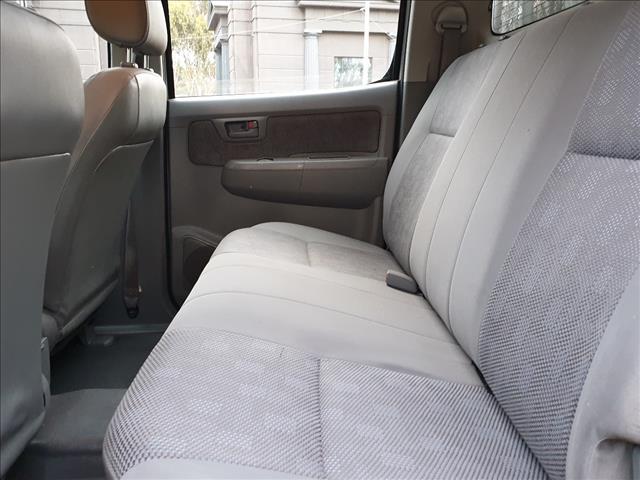 2010 TOYOTA HILUX SR KUN16R 09 UPGRADE DUAL CAB P/UP