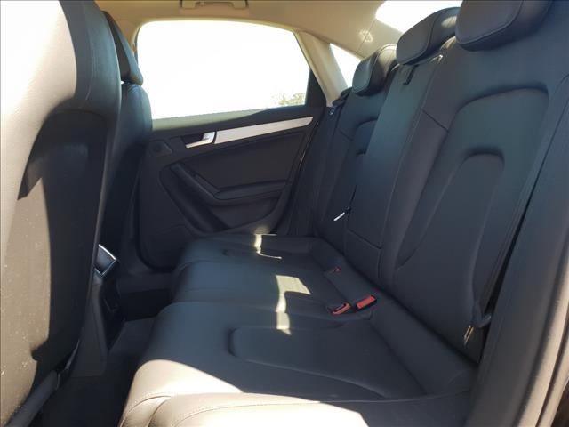 2011 AUDI A4 2.0 TDI B8 (8K) MY11 4D SEDAN