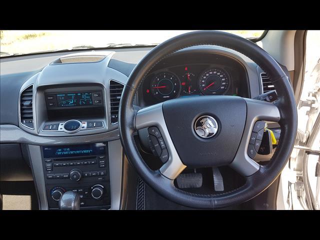2011 HOLDEN CAPTIVA 7 CX (4x4) CG SERIES II 4D WAGON