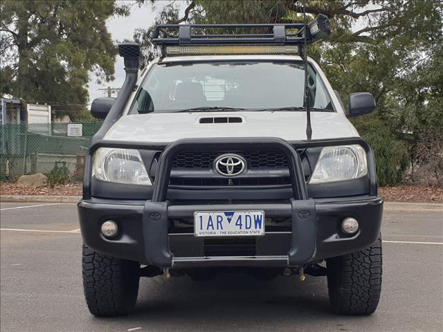 2010 TOYOTA HILUX SR (4x4) KUN26R 09 UPGRADE DUAL CAB P/UP