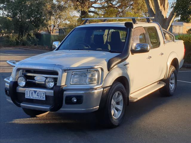 2008 FORD RANGER XLT (4x4) PJ DUAL CAB P/UP