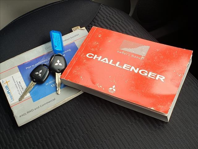 2012 MITSUBISHI CHALLENGER LS (5 SEAT) (4x4) PB MY12 4D WAGON