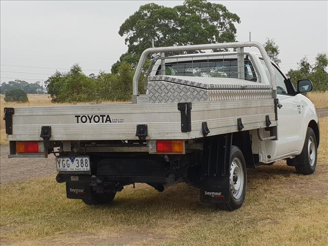 2011 TOYOTA HILUX WORKMATE TGN16R MY11 UPGRADE C/CHAS
