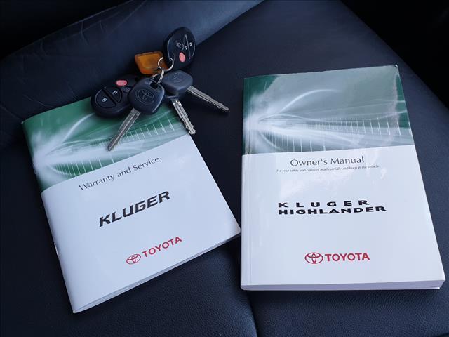 2010 TOYOTA KLUGER KX-S (FWD) GSU40R 4D WAGON