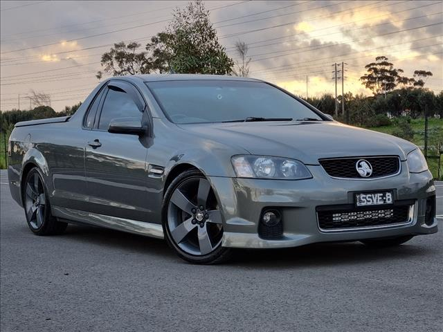 2012 HOLDEN COMMODORE SS THUNDER VE II MY12 UTILITY