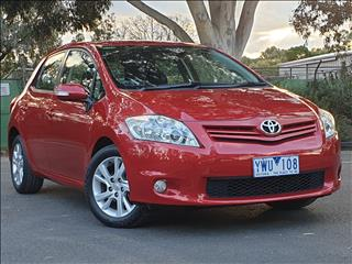 2011 TOYOTA COROLLA ASCENT SPORT ZRE152R MY11 5D HATCHBACK
