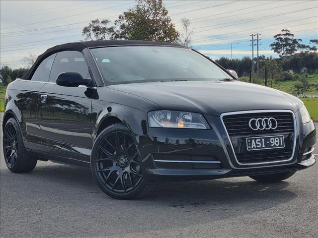 2010 AUDI A3 1.8 TFSI ATTRACTION 8P 2D CABRIOLET