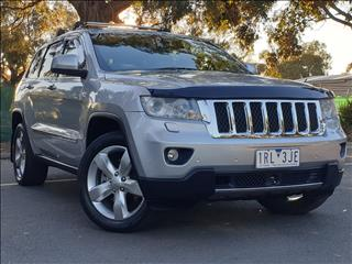 2012 JEEP GRAND CHEROKEE OVERLAND (4x4) WK MY12 4D WAGON