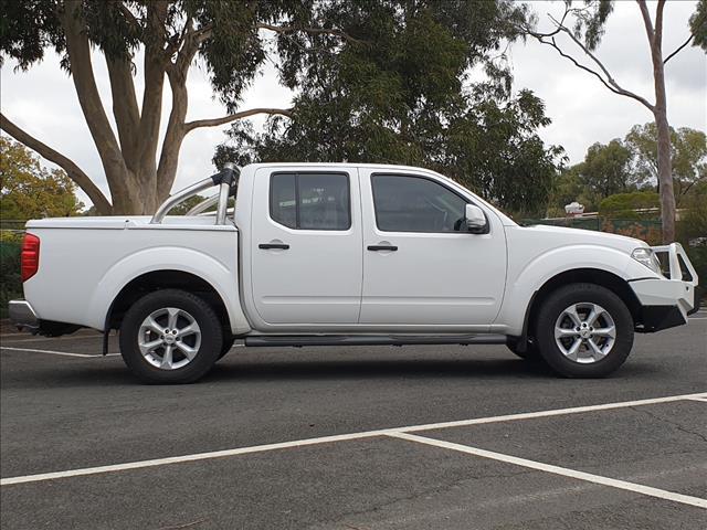 2014 NISSAN NAVARA ST (4x4) D40 MY12 UPGRADE DUAL CAB P/UP