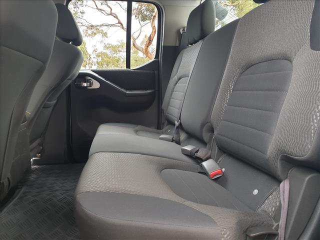 2013 NISSAN NAVARA ST (4x4) D40 MY12 DUAL CAB P/UP