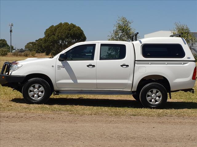2010 TOYOTA HILUX SR (4x4) KUN26R 09 UPGRADE DUAL CAB P/UP