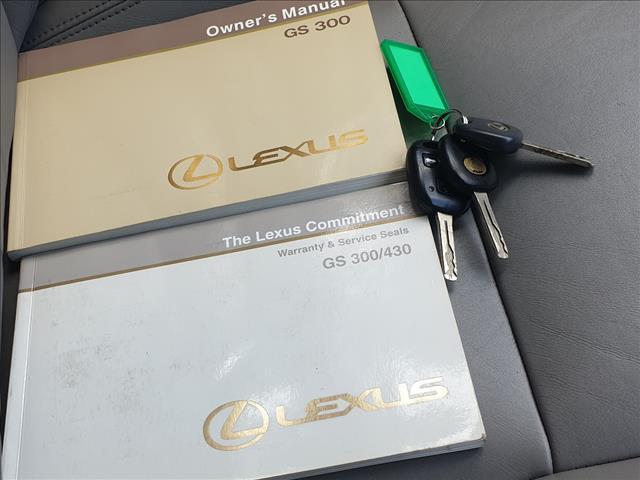2001 LEXUS GS300 JZS160R 4D SALOON