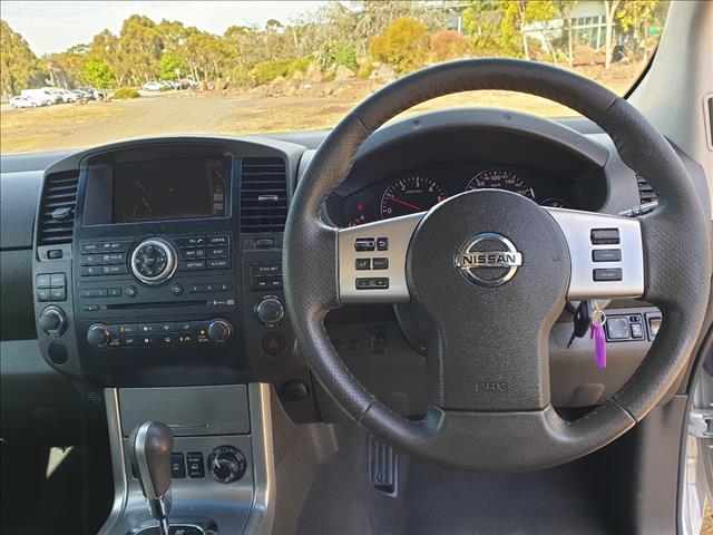 2012 NISSAN NAVARA ST-X 550 (4x4) D40 DUAL CAB UTILITY