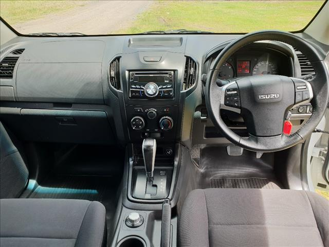 2012 ISUZU D-MAX SX (4x4) TF MY10 DUAL CAB UTILITY