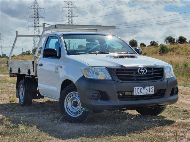 2015 TOYOTA HILUX WORKMATE KUN16R MY14 C/CHAS