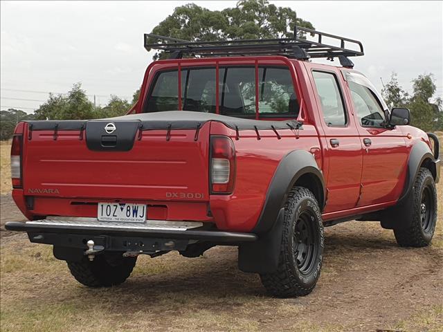 2003 NISSAN NAVARA DX (4x4) D22 SERIES 2 DUAL CAB P/UP