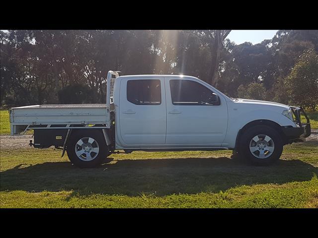 2010 NISSAN NAVARA RX (4x2) D40 DUAL CAB P/UP
