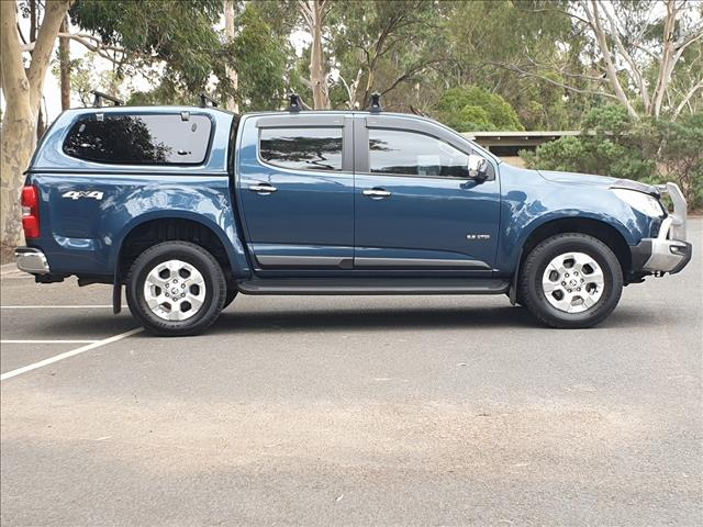 2014 HOLDEN COLORADO LTZ (4x4) RG MY14 CREW CAB P/UP
