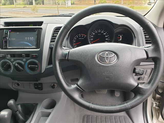 2008 TOYOTA HILUX SR (4x4) GGN25R 08 UPGRADE DUAL CAB P/UP