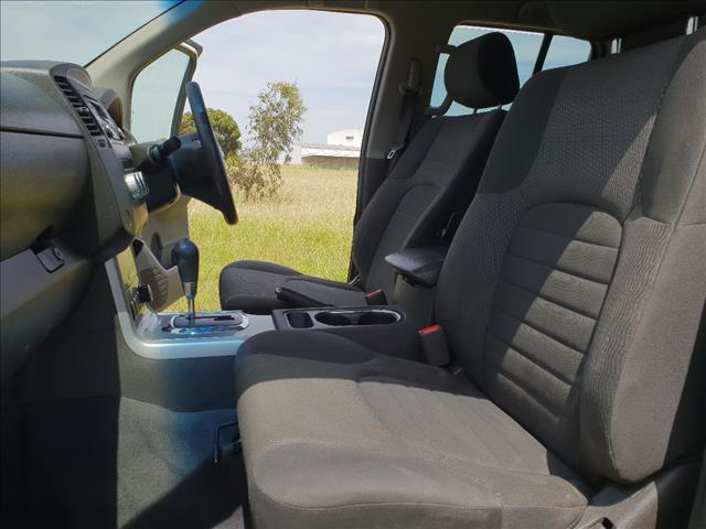 2012 NISSAN NAVARA ST-X (4x4) D40 MY12 DUAL CAB P/UP
