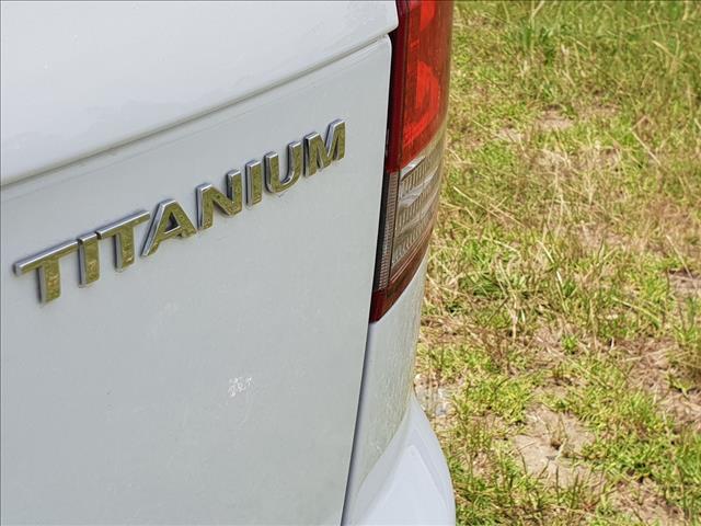 2011 FORD TERRITORY TITANIUM (4x4) SZ 4D WAGON
