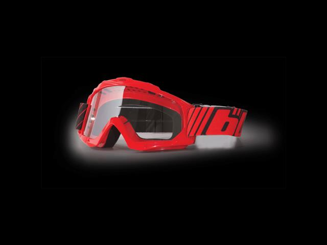 Blur B-Zero Goggle Red - Moto Cross Gear