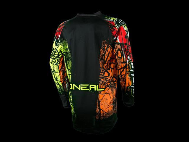 O'neal 2017 Element Vandal Jersey-Black /Neon -  Moto cross Gear