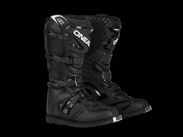 Rider Boots Black - Moto Cross Gear