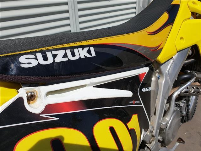 2005 SUZUKI RM-Z450 450CC K5 MOTOCROSS