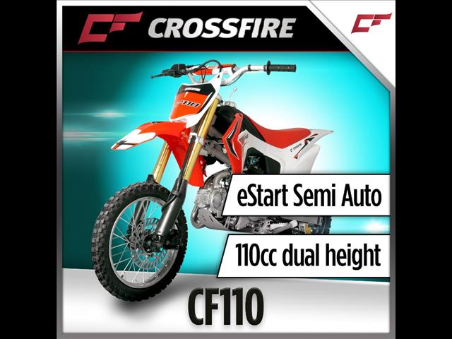 2016 CROSSFIRE CF110 110CC DIRTBIKE